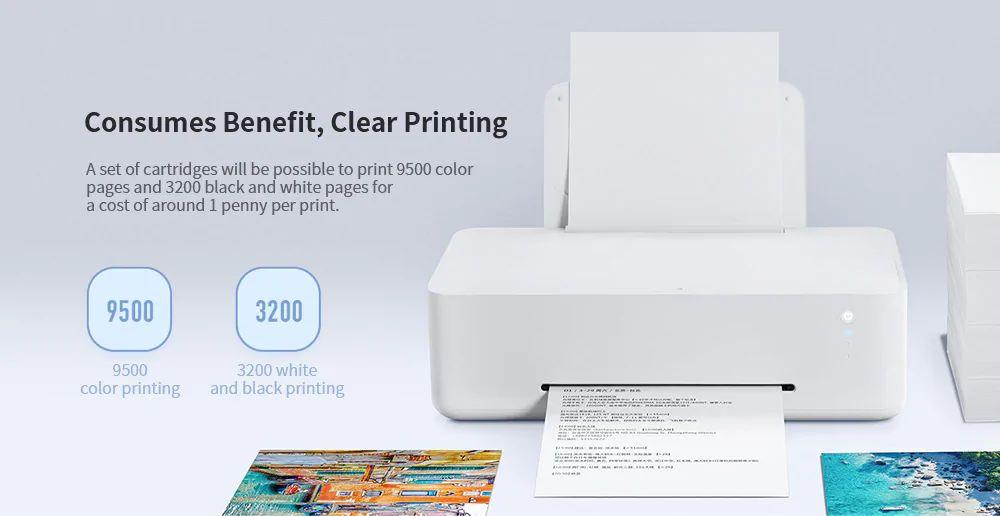 Xiaomi Mijia Inkjet Wifi Printer (1)
