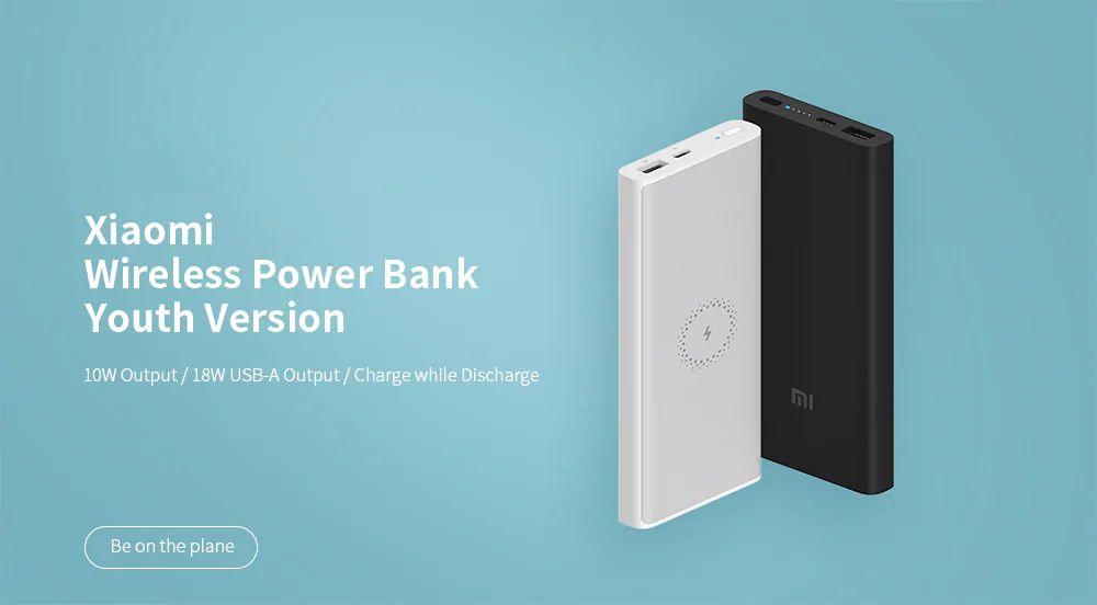 Xiaomi Wpb15zm Wireless Power Bank 10000mah Youth Version (5)