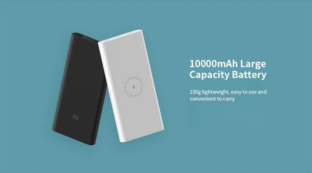 Xiaomi Wpb15zm Wireless Power Bank 10000mah Youth Version (6)