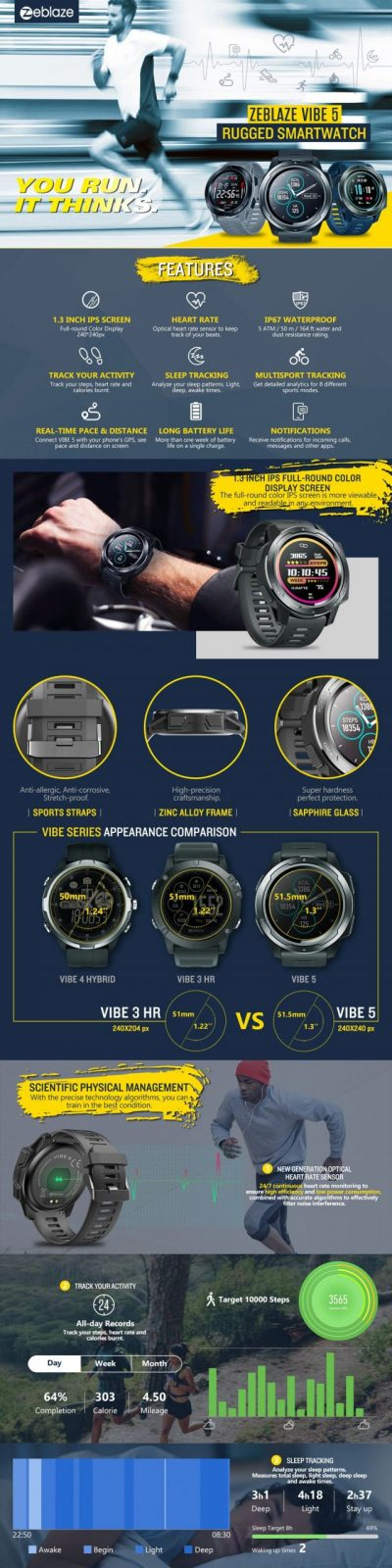 Zeblaze Vibe 5 Smartwatch (1)