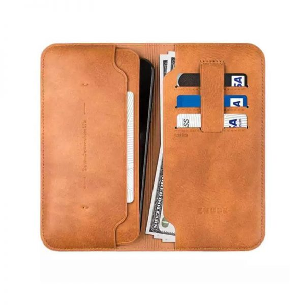 Zhuse X Series Leather Wallet (1)