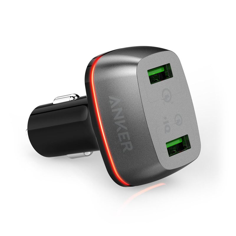 Anker Powerdrive 2 Ports 42w With Quick Charge 3 0 Car Charger (1)