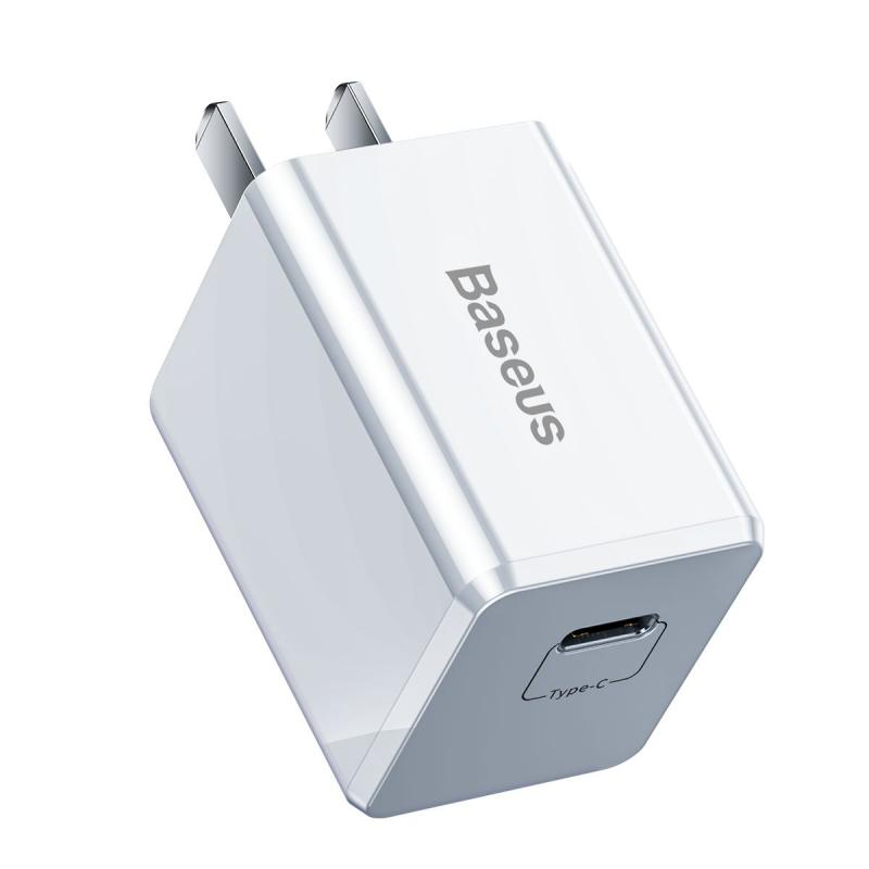 Baseus 18w Pd Quick Type C Charger For Macbook Pro Air Iphone Ipad Pro (1)