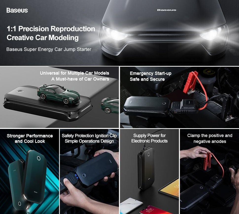 Baseus Super Energy Car Jump Starter (2)