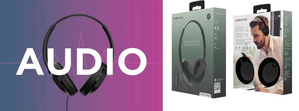 Borofone B01 3 5mm Wired Headphones (1)