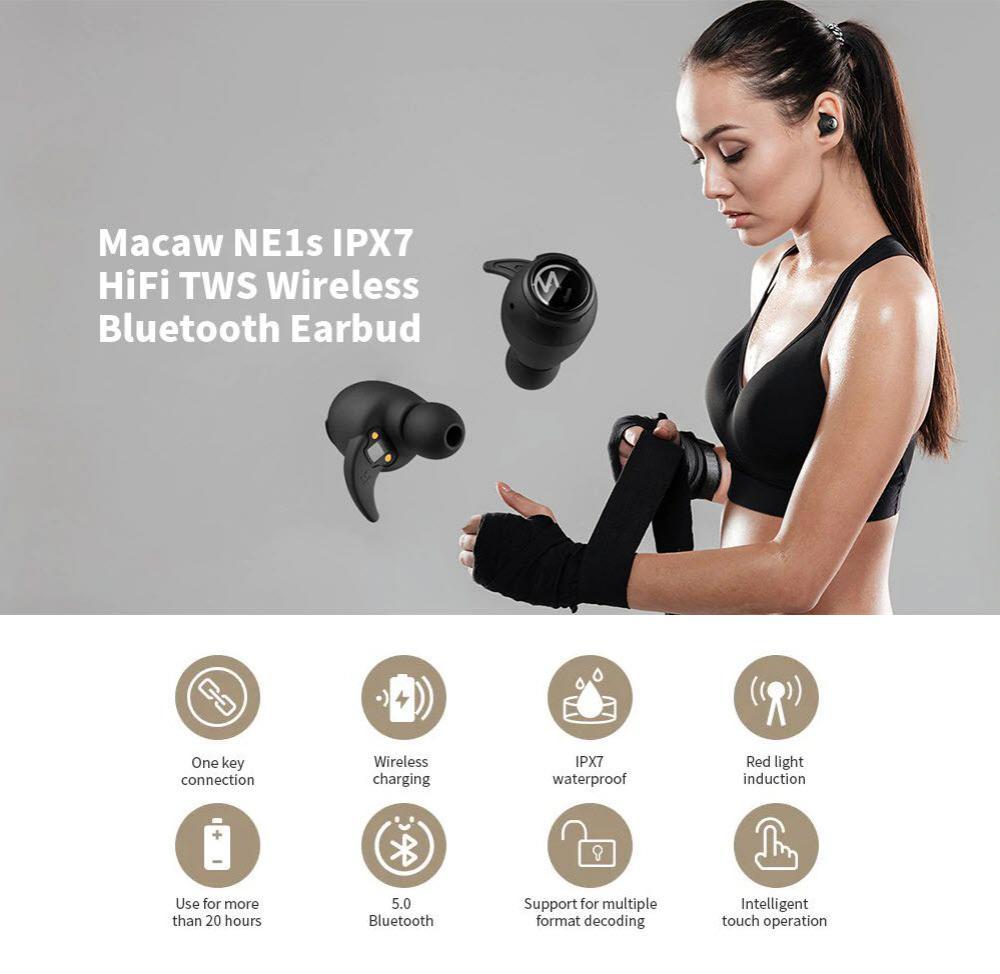 Macaw Ne1s Tws Wireless Bluetooth 5 0 Earbuds (2)