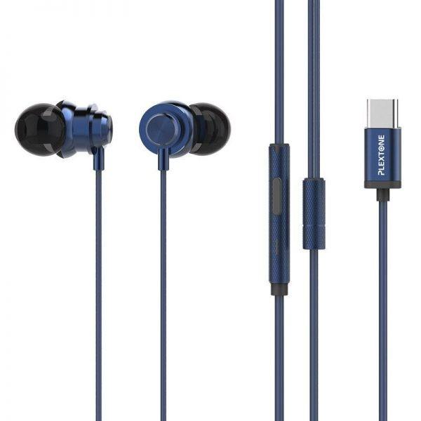 Plextone X56m Type C Metal Earphones (1)