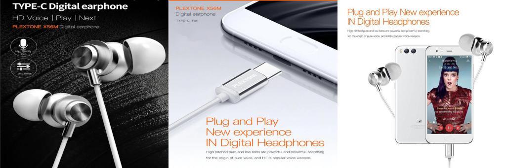 Plextone X56m Type C Metal Earphones (2)