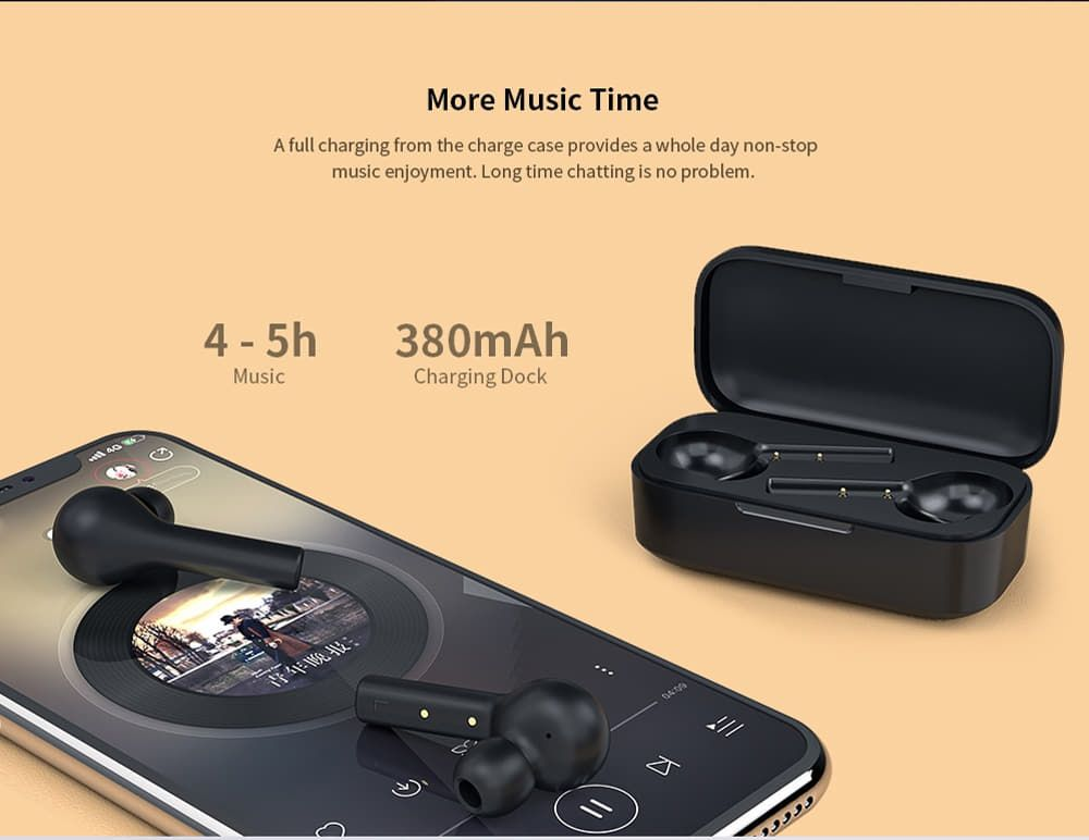 Qcy T5 Wireless Bluetooth Earbuds (2)