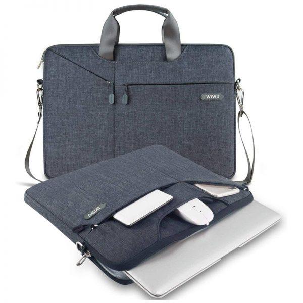 Wiwu Waterproof Multi Pockets 15 6 Inch Laptop Bag (2)