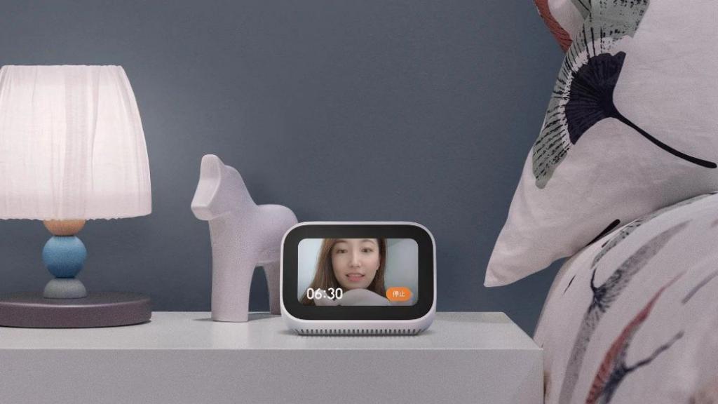 Xiaomi Ai Touch Screen Speaker With Digital Display Alarm Clock (1)