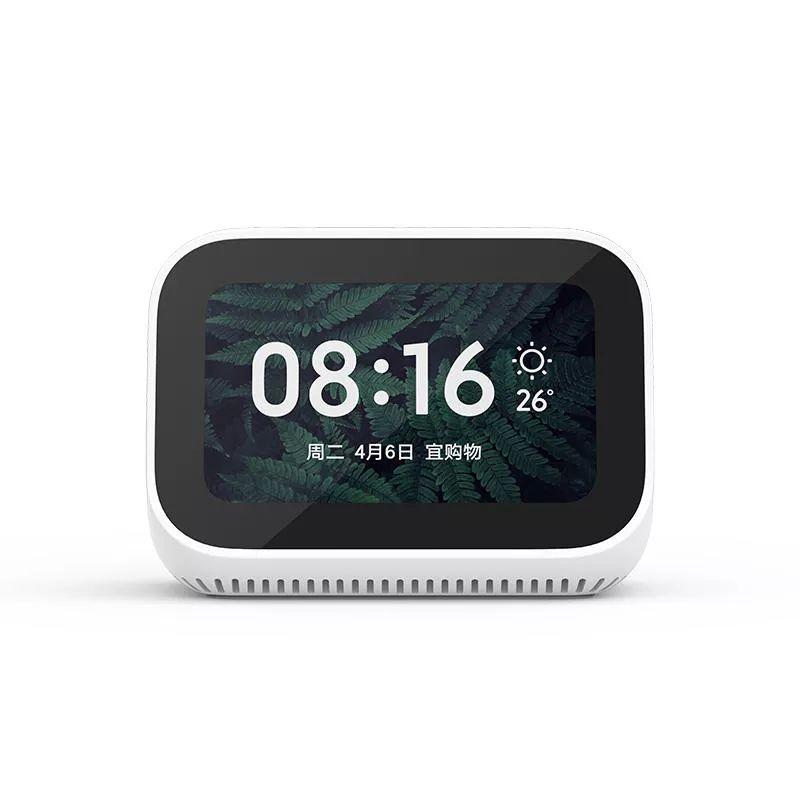 Xiaomi Ai Touch Screen Speaker With Digital Display Alarm Clock (2)