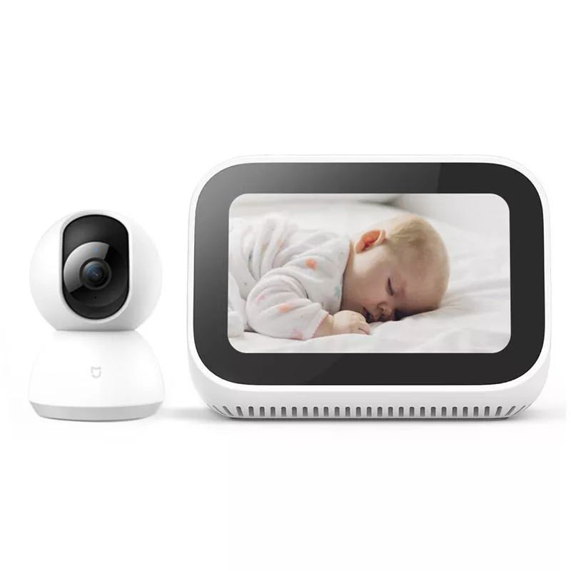 Xiaomi Ai Touch Screen Speaker With Digital Display Alarm Clock (3)