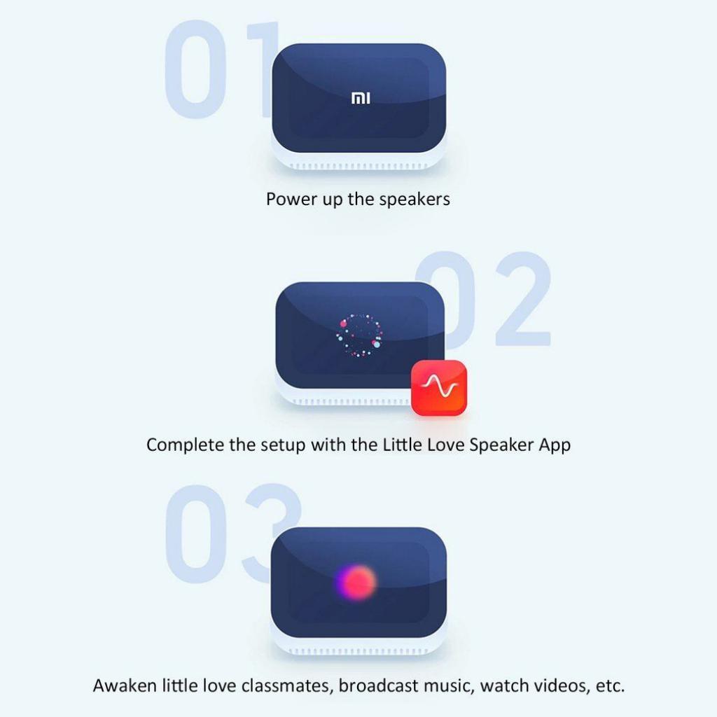 Xiaomi Ai Touch Screen Speaker With Digital Display Alarm Clock (5)