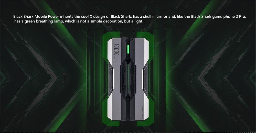 Xiaomi Black Shark 10000mah Power Bank Type C (1)