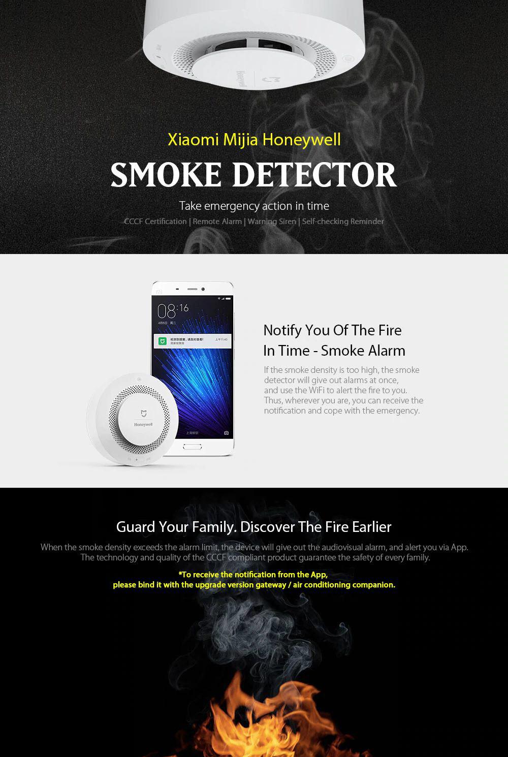 Xiaomi Honeywell Fire Alarm Smoke Sensor (3)