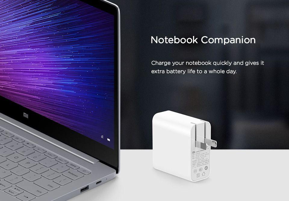 Xiaomi Mi 65w Type C Adapter For Notebook (1)