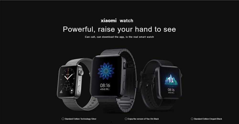 Xiaomi Mi Watch 4g Amoled Screen Smart Watch (5)