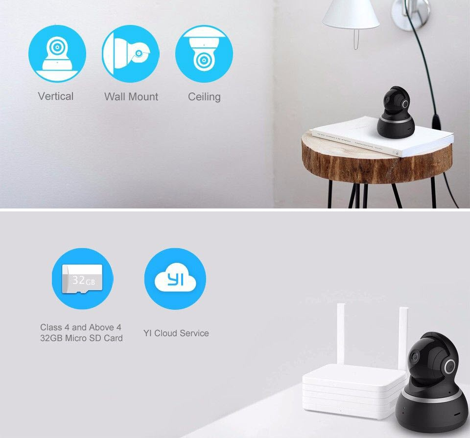 Yi Dome Home Security Camera 1080p (2)