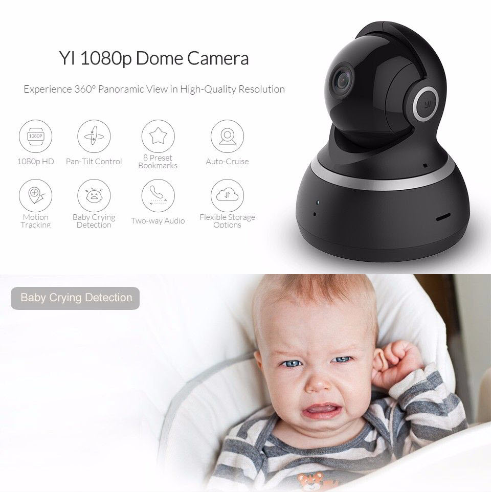 Yi Dome Home Security Camera 1080p (3)