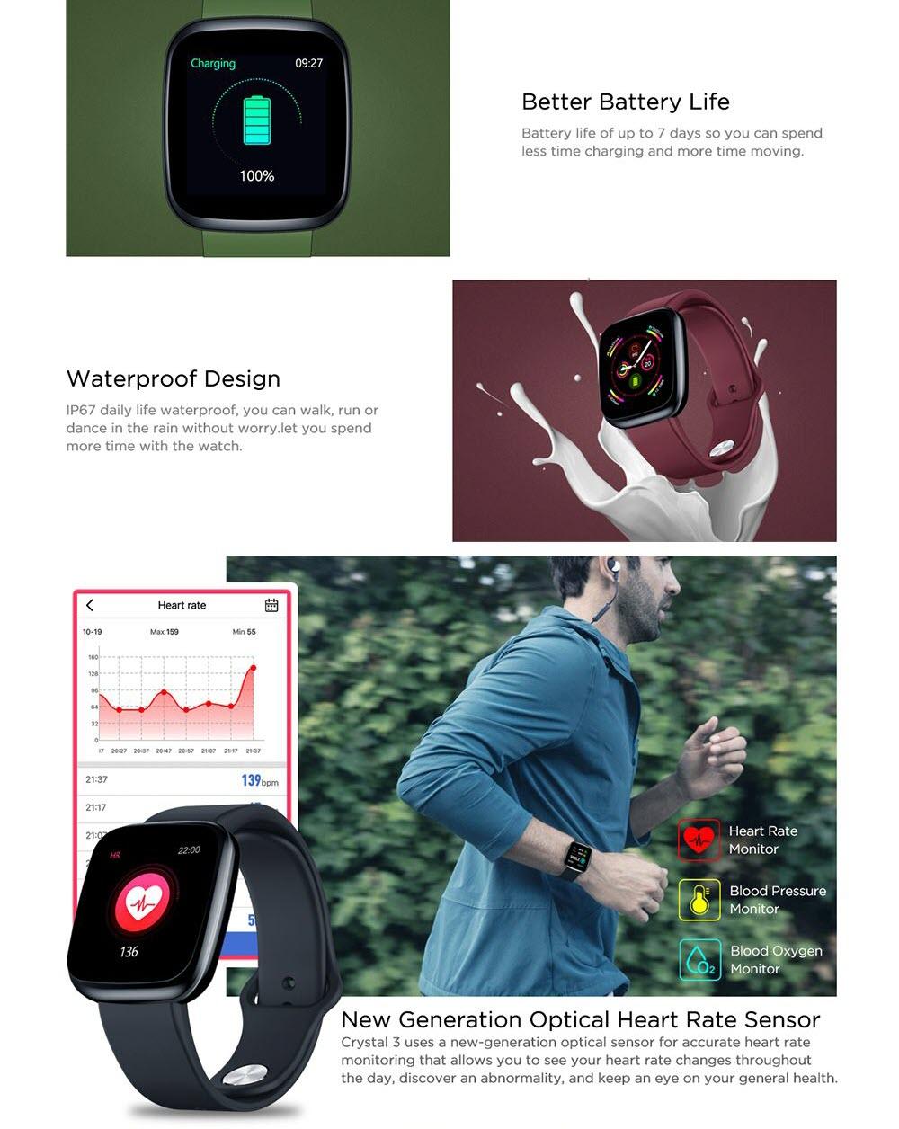Zeblaze Crystal 3 Smartwatch (1)