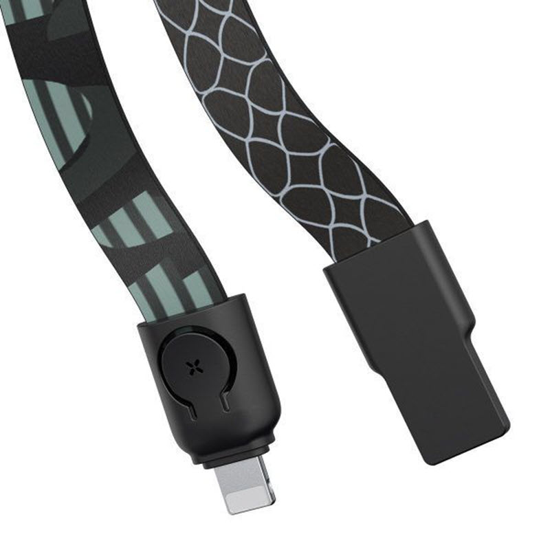 Baseus Multi Functional Lanyard Data Cable For Iphone 85cm (2)
