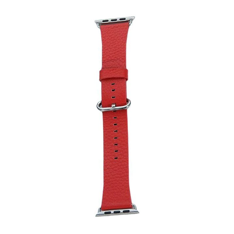 Coteetci W22 Leather Strap Band For Apple Watch 42 44 Mm (1)