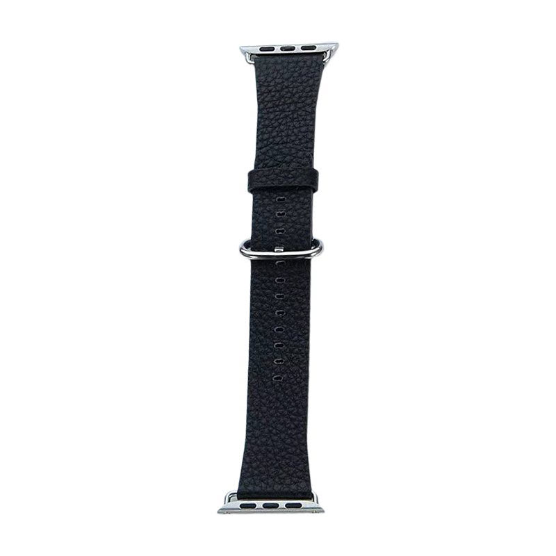 Coteetci W22 Leather Strap Band For Apple Watch 42 44 Mm (2)