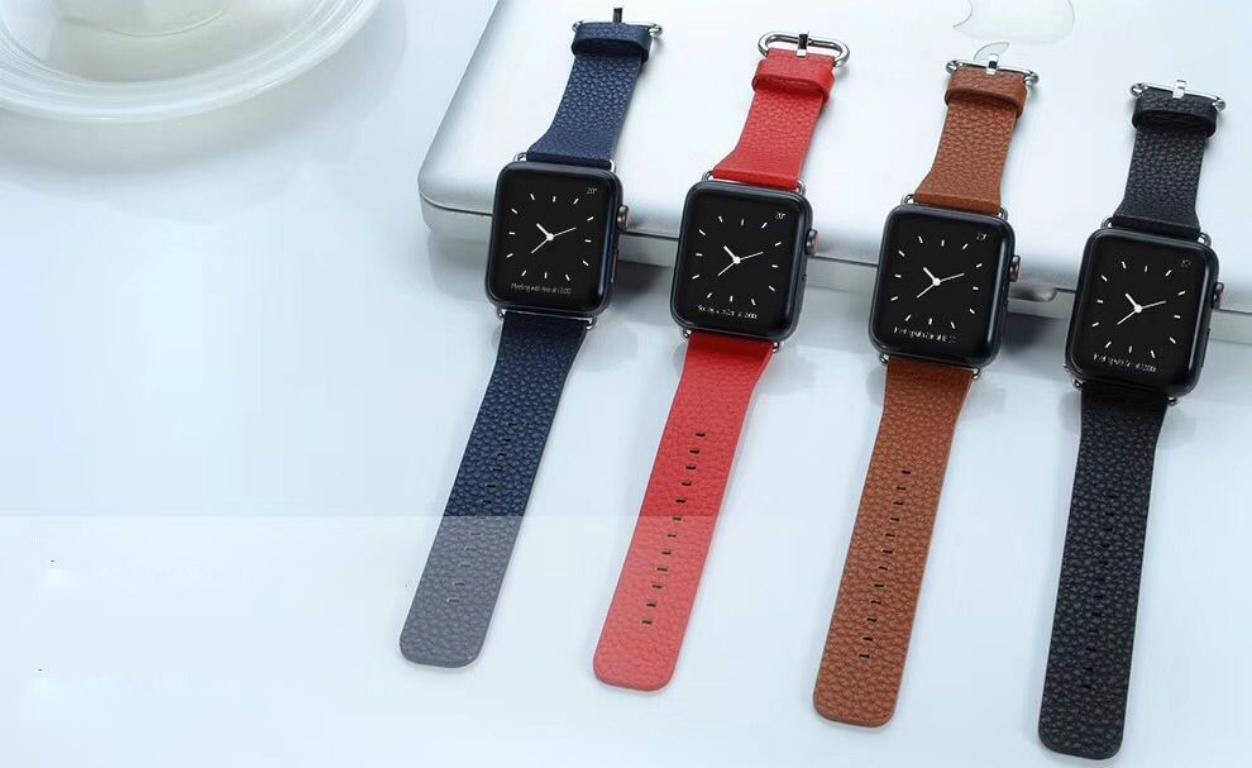 Coteetci W22 Leather Strap Band For Apple Watch 42 44 Mm (7)