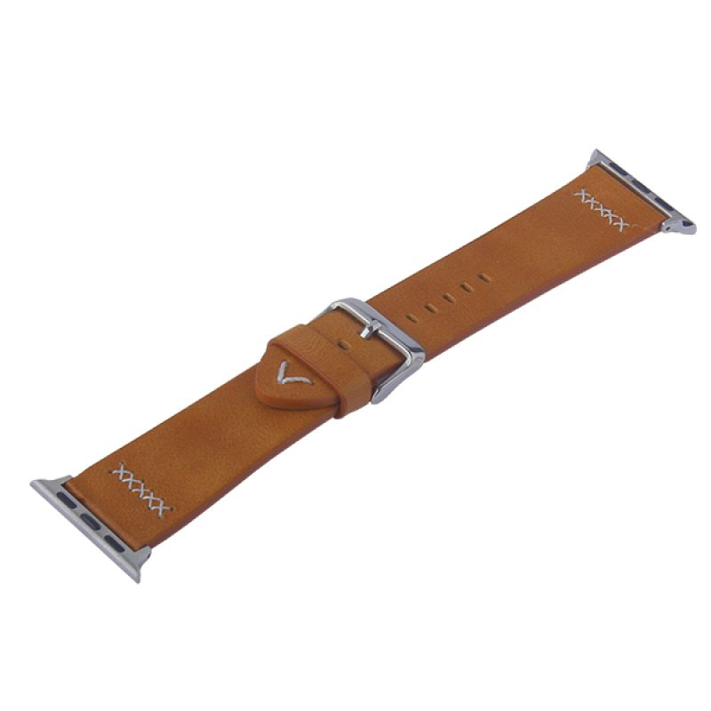 Coteetci W33 Leather Watchband For Apple Watch 42 44 Mm
