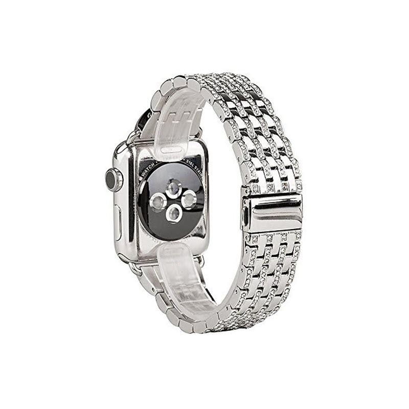 Coteetci W4 Diamond Watch Band For Iwatch 42 44mm (1)