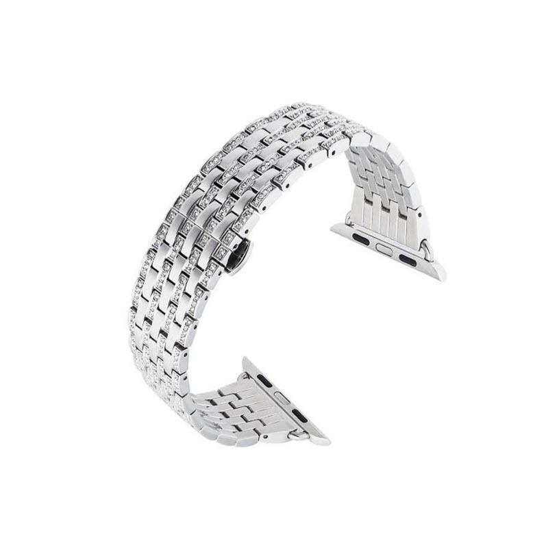 Coteetci W4 Diamond Watch Band For Iwatch 42 44mm (2)