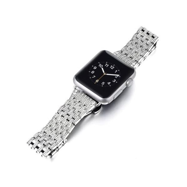 Coteetci W4 Diamond Watch Band For Iwatch 42 44mm (3)