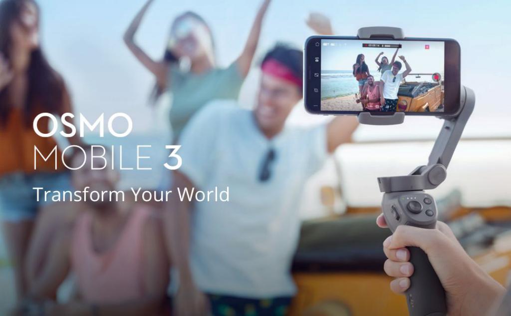 Dji Osmo Mobile 3 Combo Handheld Gimbal (2)