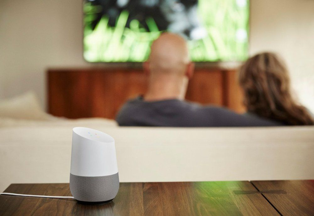 Google Home Smart Speaker With Google Assistant (1)