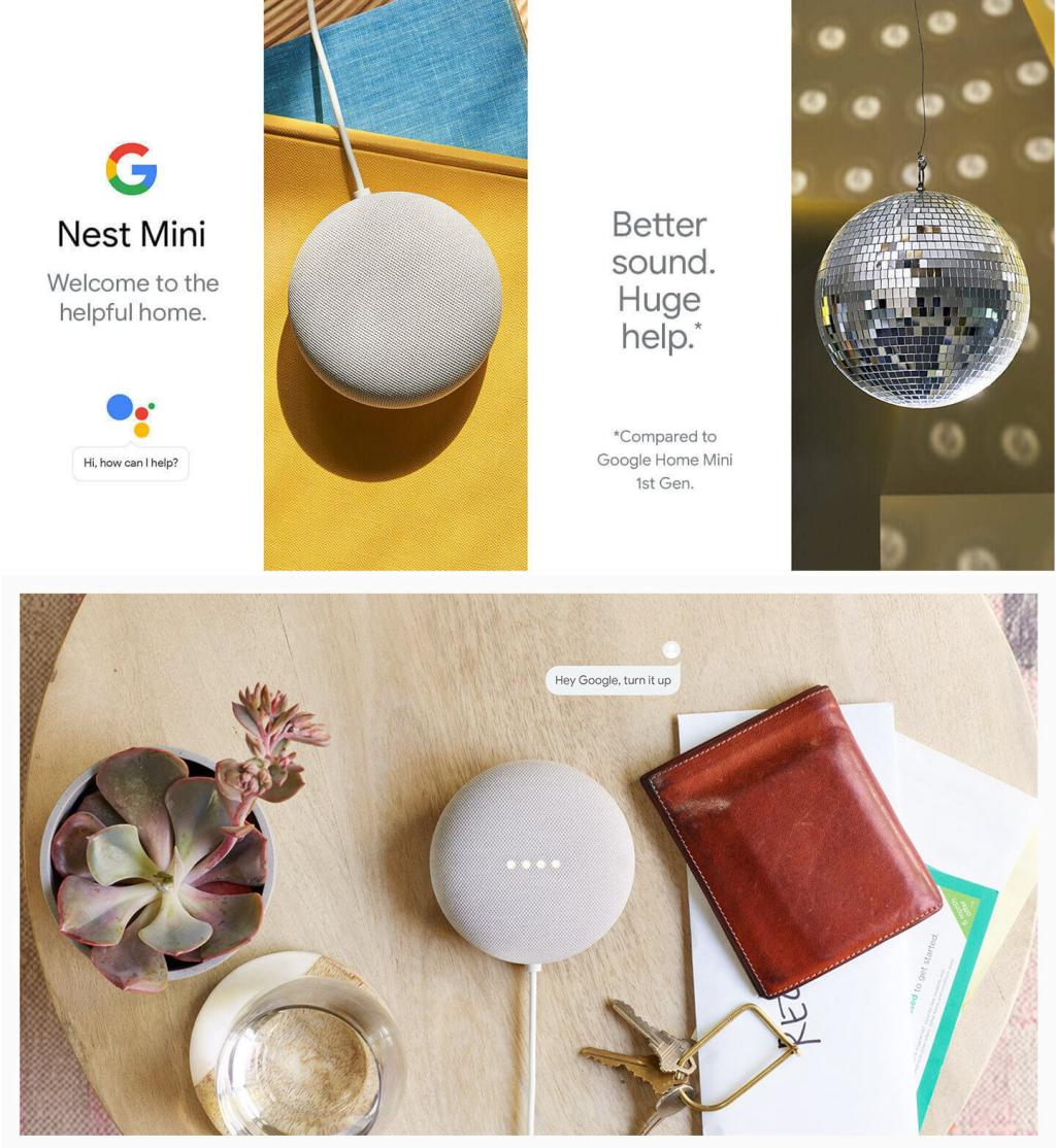 Google Nest Mini 2nd Generation With Google Assistant (1)