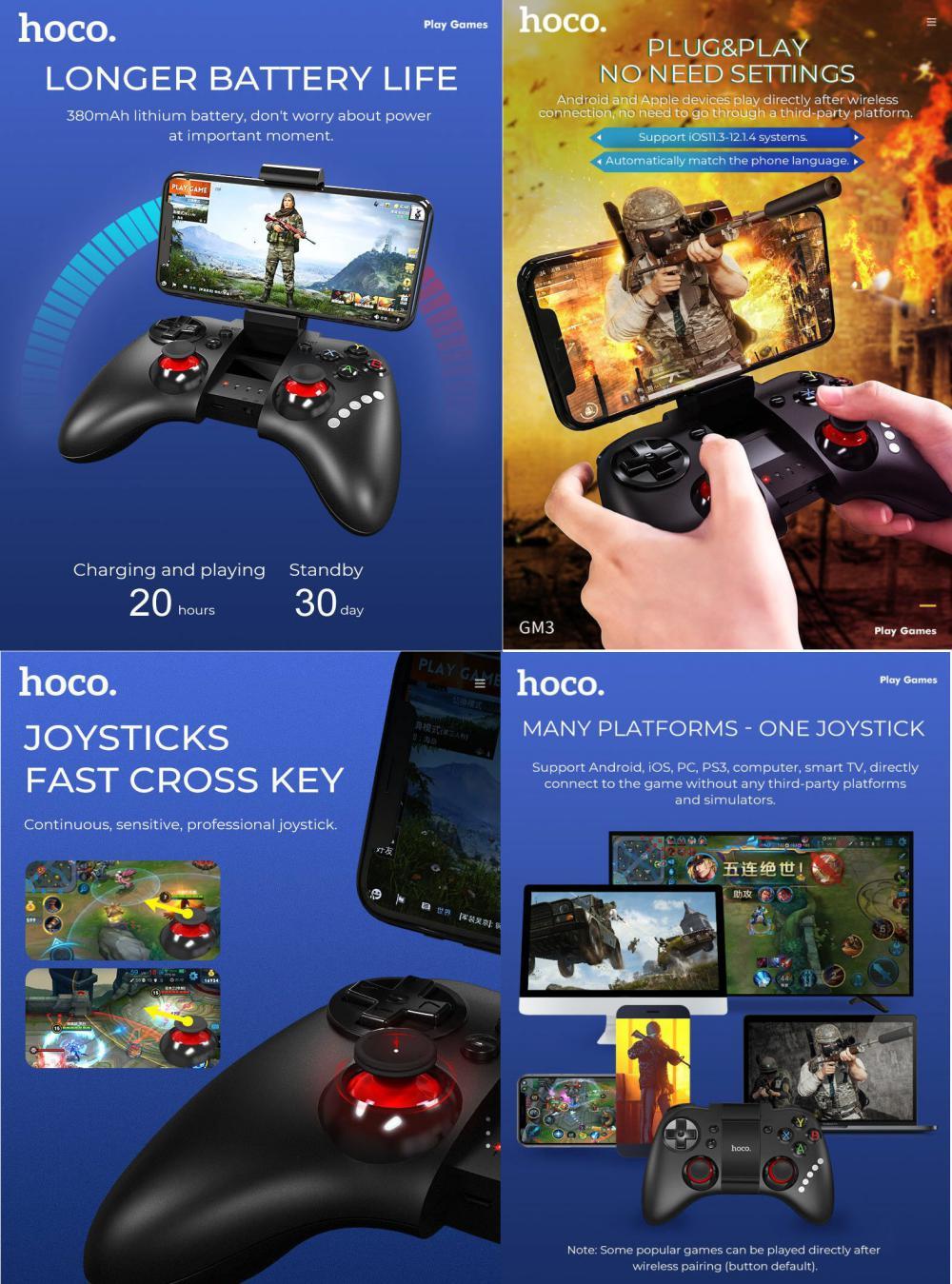 Hoco Gm3 Continuous Play Gamepad (4)