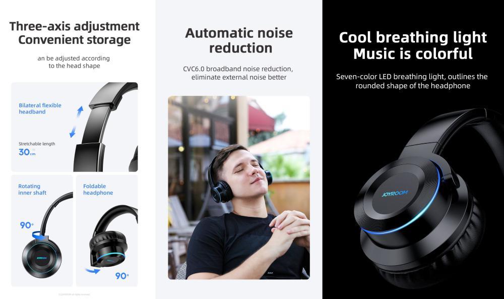 Joyroom Jr H16 Wireless Stereo Headset (1)