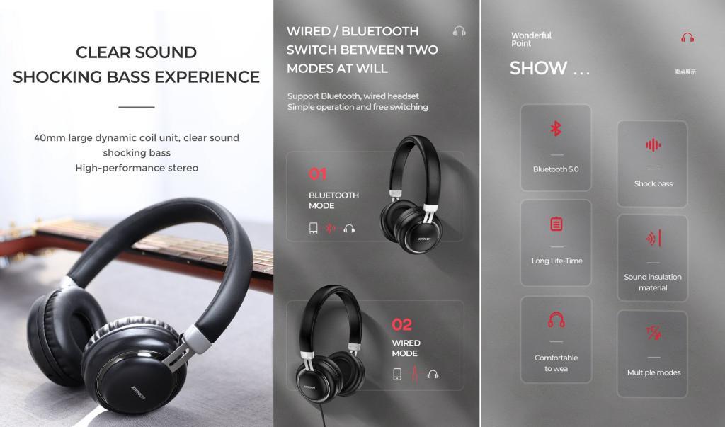 Joyroom Jr Hl1 Bluetooth Headset (1)