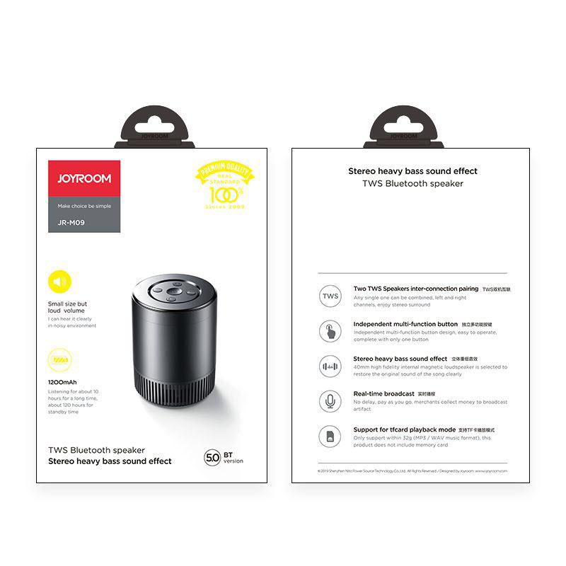 Joyroom Jr M09 Tws Bluetooth Speaker (1)
