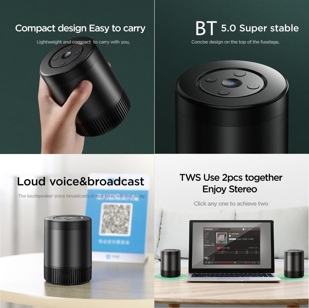 Joyroom Jr M09 Tws Bluetooth Speaker (3)
