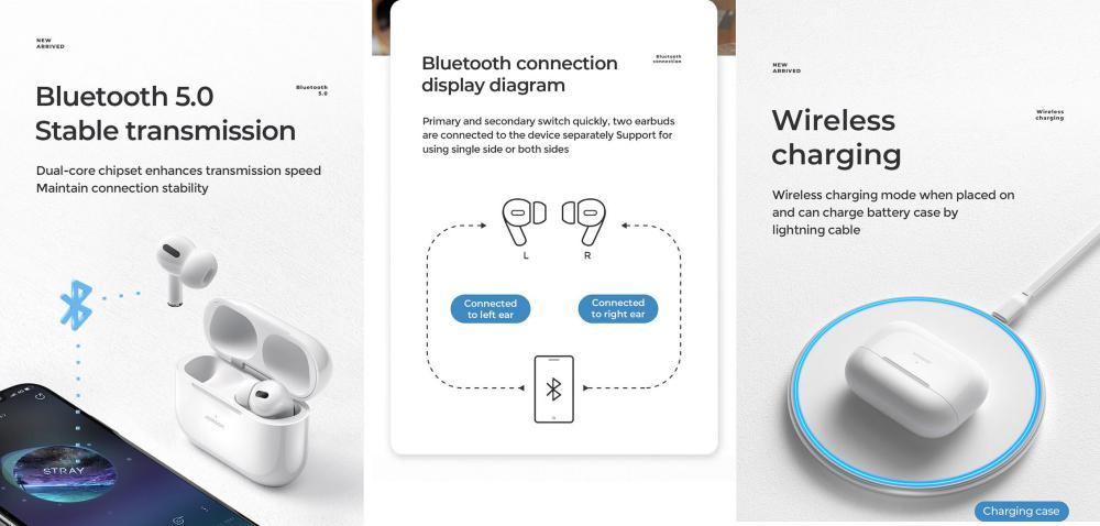 Joyroom Jr T03 Pro True Wireless Earbuds (1)