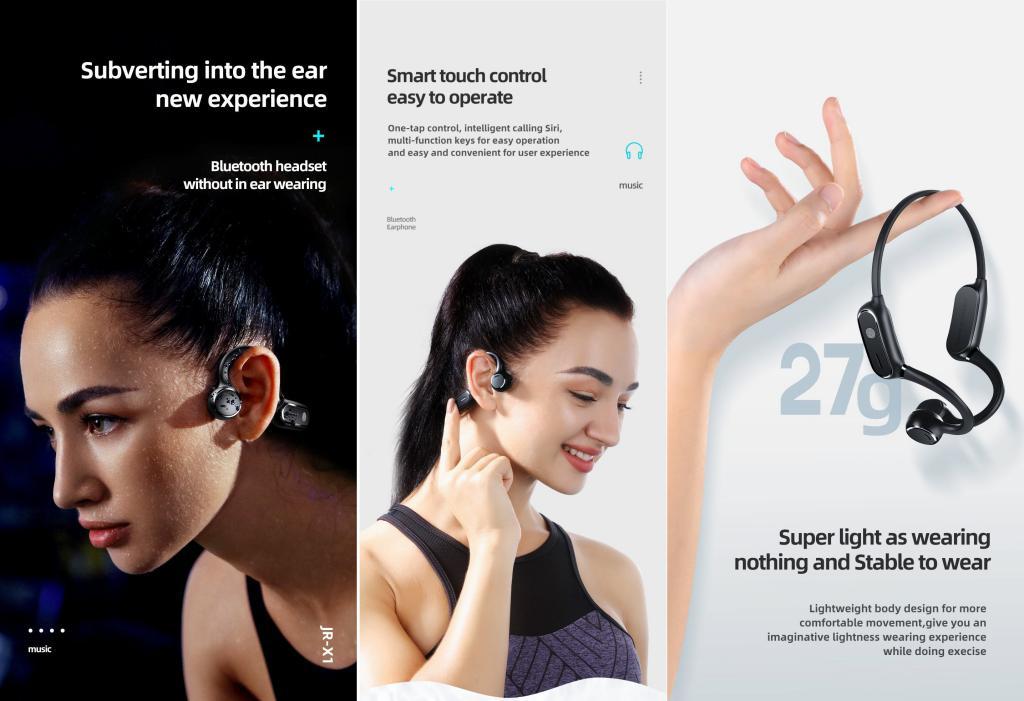 Joyroom Jr X1 Subversion Series Open Ear Wireless Headphones (3)