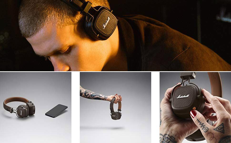 Marshall Major Iii Bluetooth Wireless Headphones (1)