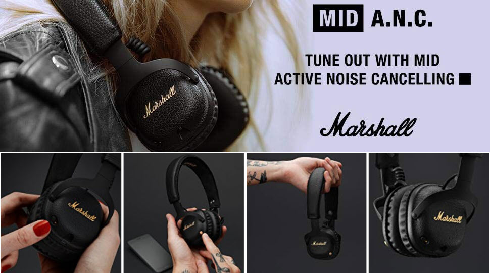 Marshall Mid A N C Active Noise Cancelling Headphones (2)