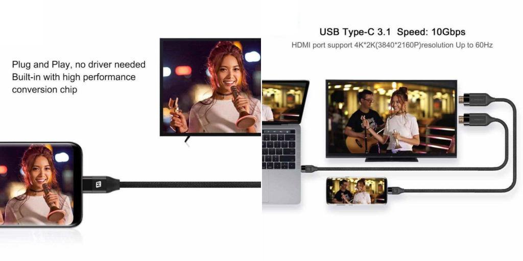 Momax Elitelink Type C To Hdmi 4k Cable 2m (2)