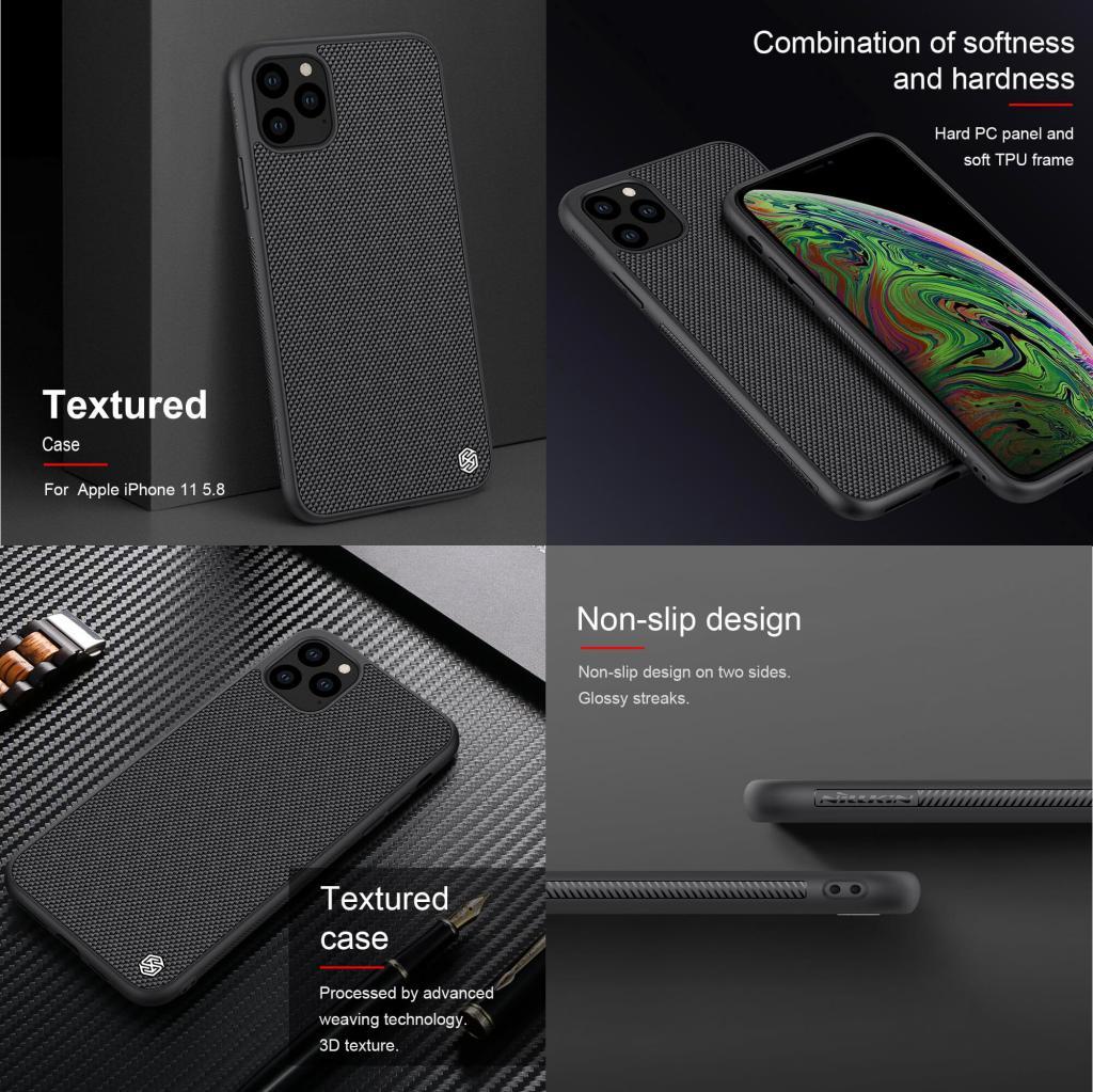 Nillkin Textured Nylon Fiber Case For Iphone 11 Pro (1)