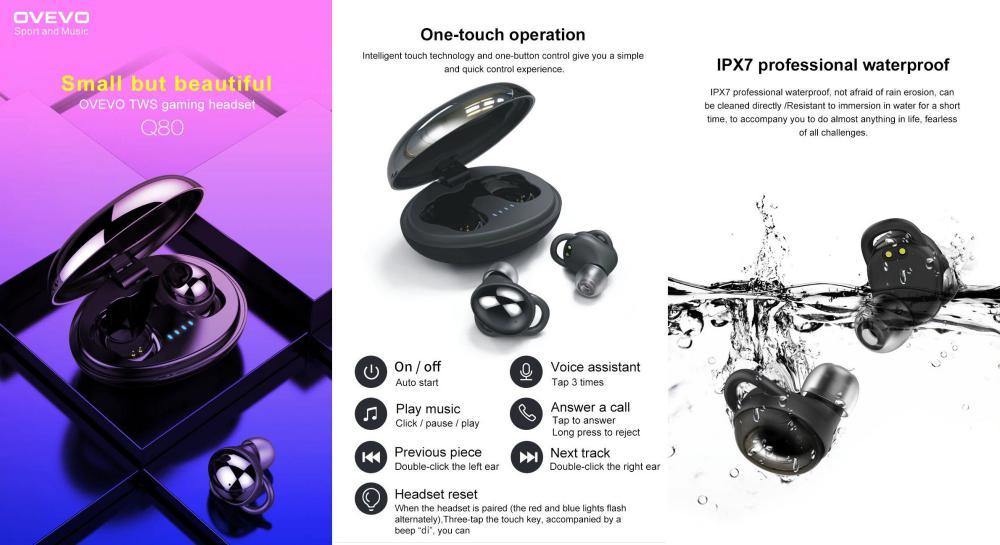 Ovevo Q80 Tws Bluetooth V5 0 Earbuds (2)