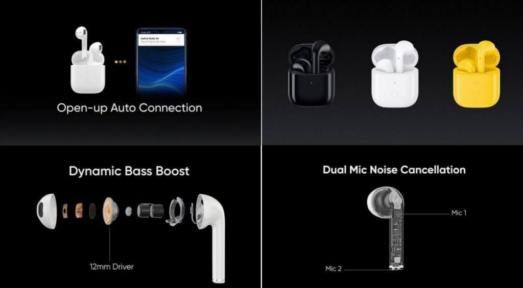Realme Buds Air True Wireless Earbuds (1)