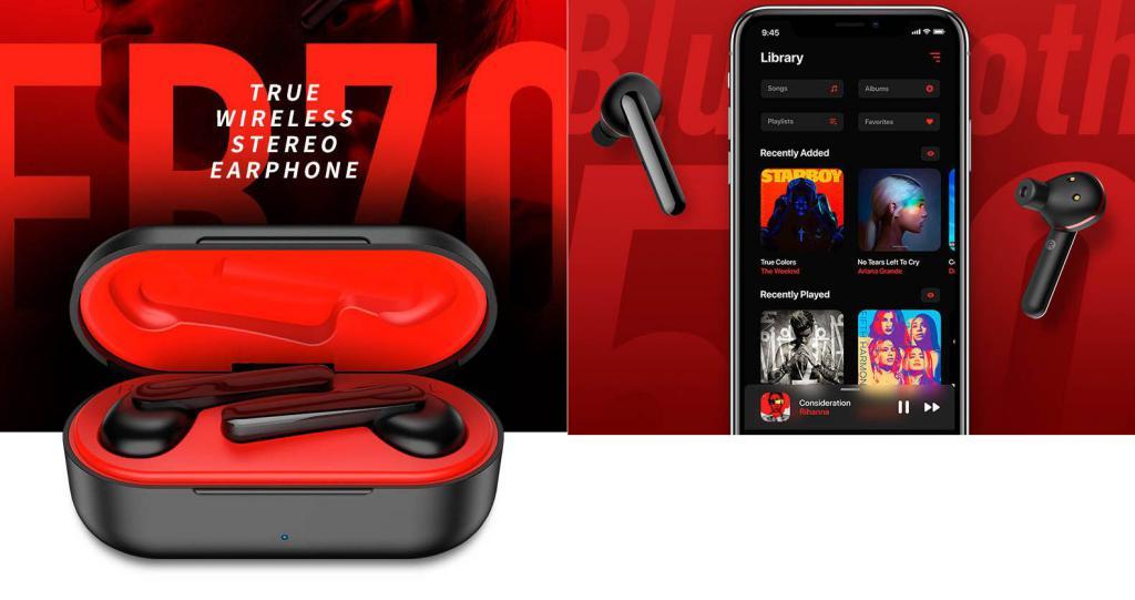 Rock Space Eb71 True Wireless Stereo Earbuds (2)